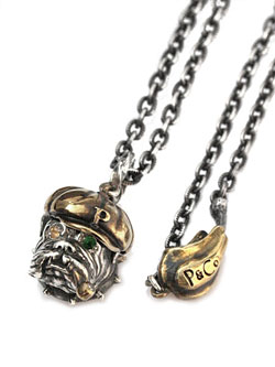 "Bull Necklace ""CAPTAIN"""