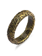 carved ruff brass ring [R-101023-BRS-BRS]