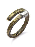 Match Design Ring (Brass) [R-101104-MIX-BRS]