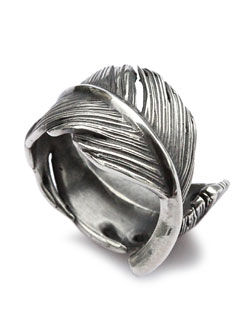 HARIM FEATHER RING L (OX)