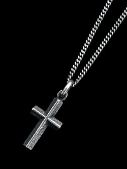 Still Hard 【CROSS】 SV Necklace / ネックレス