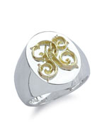Signet Ring (L / K18 Gold)