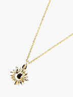 K10 YELLOW GOLD Sun Necklace [NO.11110]